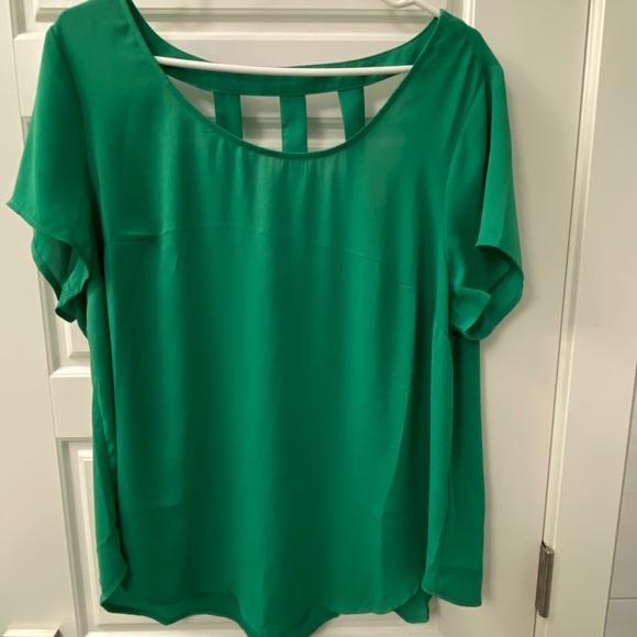 Green torrid blouse